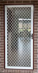 diamond grill hinged door